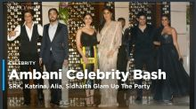 Ambani Bash: SRK, Katrina, Alia, Sidharth Glam Up The Party