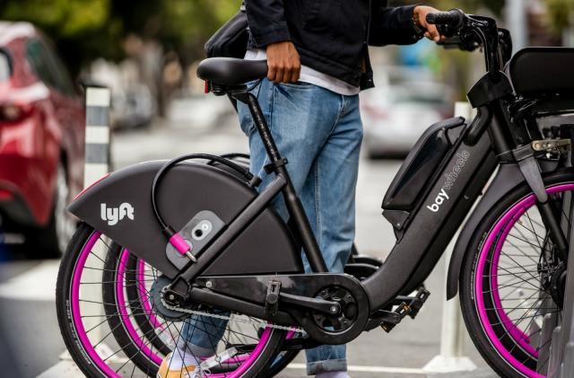 Lyft renames its Bay Area bike-sharing program Bay Wheels