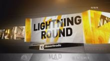 Cramer's lightning round: 'I can't countenance' selling B...