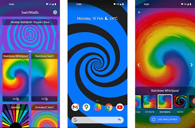 The creator of Action Launcher built a 'living' Android wallpaper app
