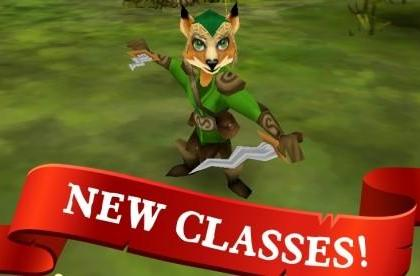 Pocket Legends adds Paladin and Ranger classes