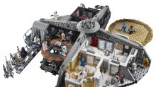 This new 'Star Wars' Lego set truly belongs among the clouds