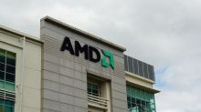 Descending Triangle Pattern in AMD Stock