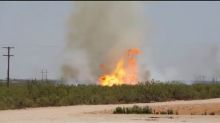 Worker dies from injuries in west Texas pipeline blaze