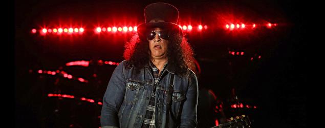 Guns N' Roses guitarist Slash. (Getty Images)