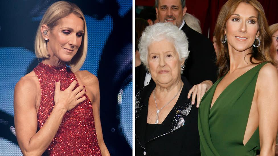 Celine Dion reveals heartbreak in touching post after mother's death