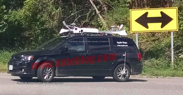 """Apple schreibt """"Apple"""" auf Maps-Kameraautos und warnt vor ihrem Erscheinen"""