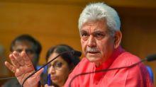 Kashmir Calling: Why Manoj Sinha Became Modi-Shah's Pick For J&K's Next Lieutenant Governor