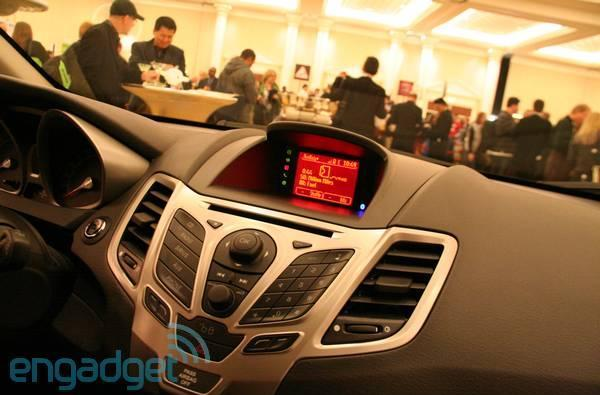 Ford SYNC AppLink hands-on in a little green Fiesta