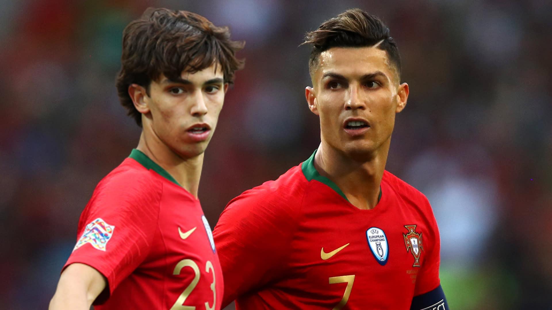 I Want To Be Like Cristiano Ronaldo Atletico Madrid Wonderkid Joao Felix Out To Emulate His Portugal Team Mate