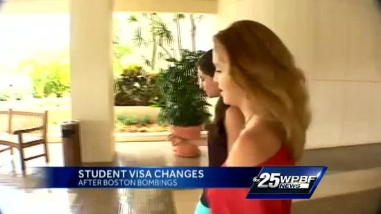 Lynn student with eye to grad school concerned about student visa changes