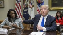 Omarosa claims she heard recordings of Donald Trump making racist remarks