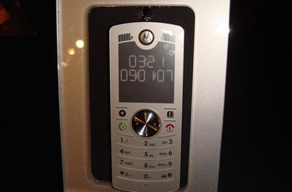 Motorola's CDMA MOTOFONE, the F3c