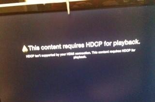 HDCP may spoil your Apple TV fun