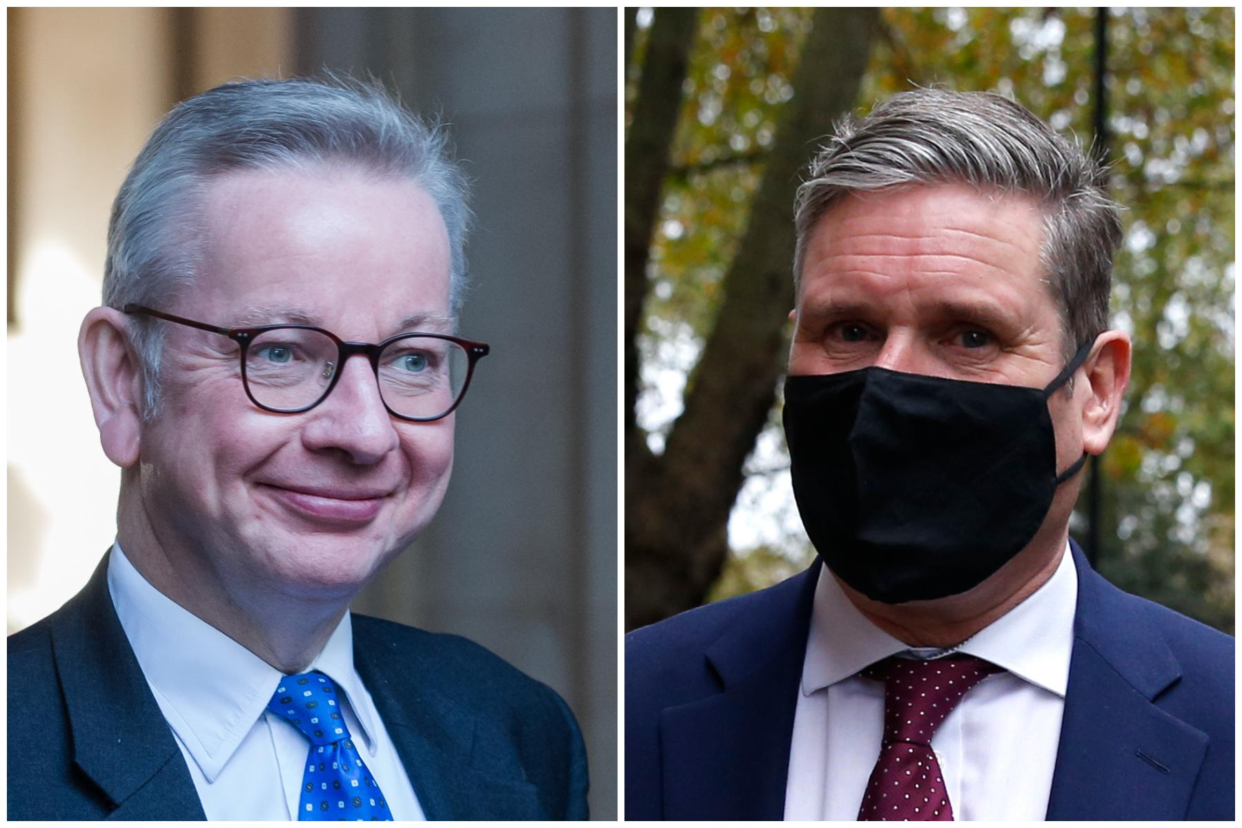 Labour MP tells Michael Gove to 'do one' over Keir Starmer criticism