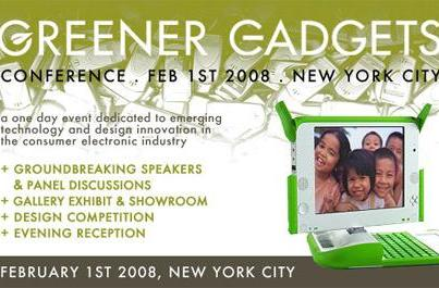 Greener Gadgets Conference: win tickets or enter your own gadget design to compete