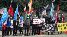Friends of Canada-India, others hold protest against China in Vancouver for release of 2 detained Canadians