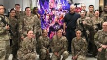 Special   Avengers: Endgame Screenings Delight U.S. Troops in Afghanistan After Viral Tweet