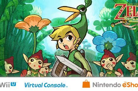 Zelda: The Minish Cap coming to Wii U eShop in Europe next week