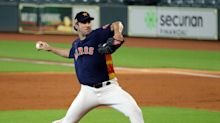 Report: Astros star Justin Verlander out of the season with elbow injury