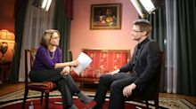 Katie Couric interviews Edward Snowden: A look behind the scenes