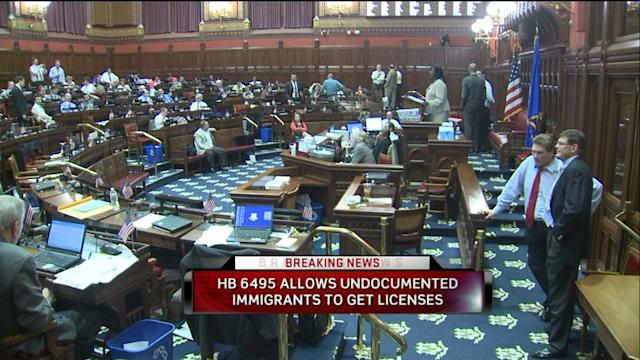 CT House Approves Undocumented Immigrant Drivers License Bill