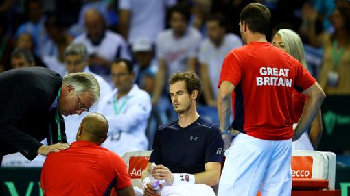 Andy Murray reveals he is desperate for a break from tennis