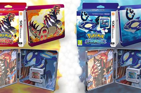 Glameow it up with Pokemon Alpha & Omega steelbooks in EU