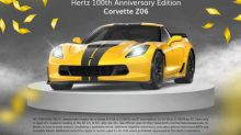 Hertz Launches Hertz+ with Chance to Win Special Edition Corvette Z06