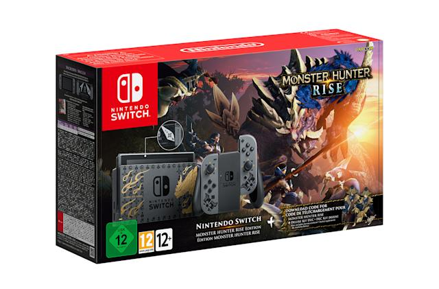 Nintendo is releasing an ornate, limited-edition Monster Hunter Switch