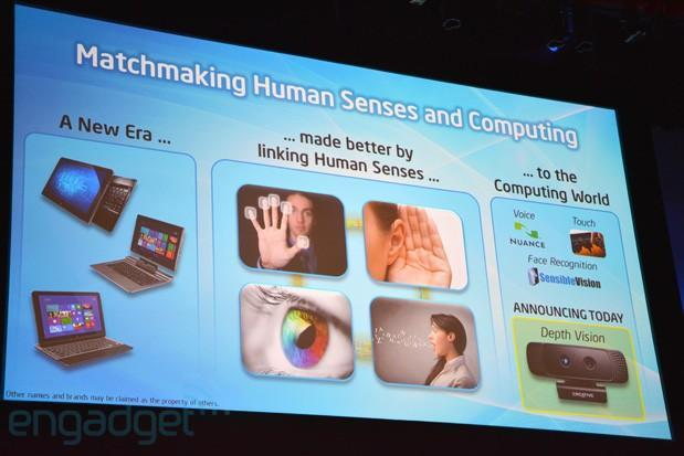 Intel's 3D camera technology detects emotions and eyes, gives Kinect some competition