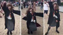 Spellbinding video of dancing Hermione goes viral