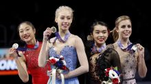 Two newcomers named to U.S. women's figure skating team