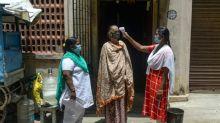 India virus deaths pass Italy's as floods hamper battle