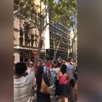Mass demonstrations and vigils in Barcelona following terror attack