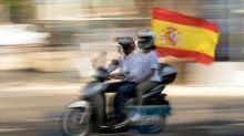 Espagne: manifestations anti-gouvernement en voiture à l'appel de l'extrême-droite