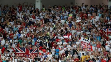 FA confirms joint investigation with British police into video of England fans performing Nazi salutes