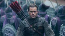 Matt Damon's The Great Wall expected to lose $75 million
