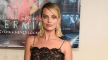 Margot Robbie's Outfit Is See-Through From Head to Toe in the Chicest Way