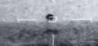 Video purportedly shows UFO flying near U.S. coast