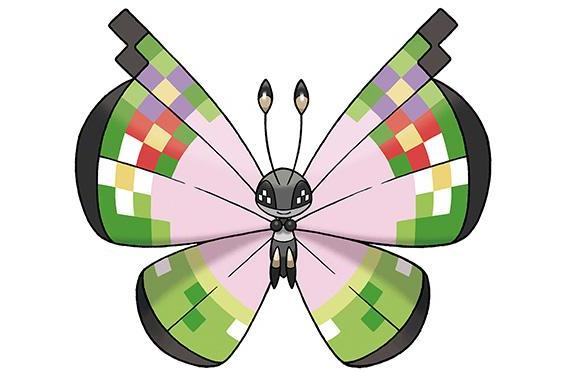 Catch this fancy bug in Pokemon X/Y