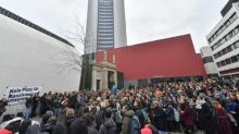 Hunderte Leipziger Studenten protestieren gegen umstrittenen Uni-Professor