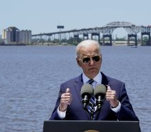 In GOP stronghold, Biden pushes for his infrastructure plan