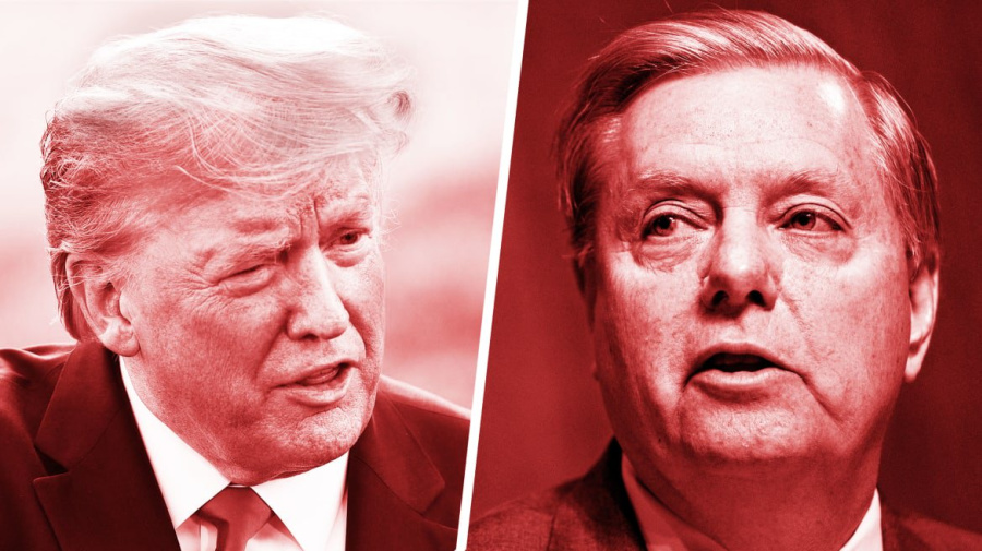 Trump at odds with Graham over Iran policy