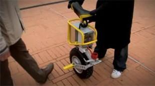 Enicycle, the electric unicycle, gets ridden on video