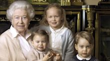 George And Charlotte Don Spanish Childrenswear For The Queen's Birthday Portrait