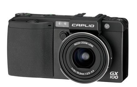 Ricoh's Caplio GX100: not a DSLR, not a point-and-shoot -- just hot