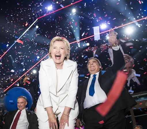 The Happiest Photo of Hillary Clinton