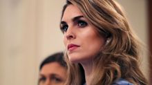 House Democrats subpoena ex-White House staffers Hope Hicks and Annie Donaldson in obstruction of justice probe