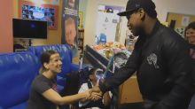 John Boyega Visits Star Wars Fans At Children's Hospice